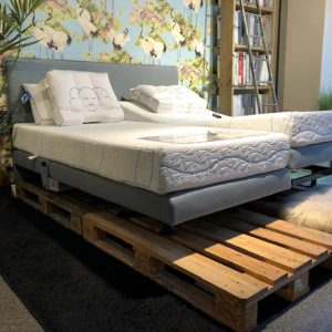 Showroom boxspring endoxa elektrisch